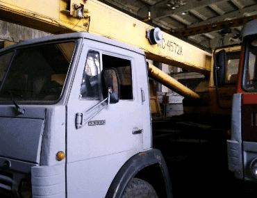 Автокран КамАЗ - выкуп в Санкт-Петербурге