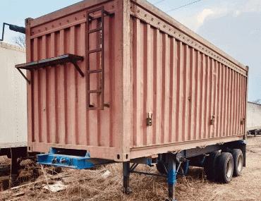 Прицеп-контейнеровоз - выкуп в Санкт-Петербурге